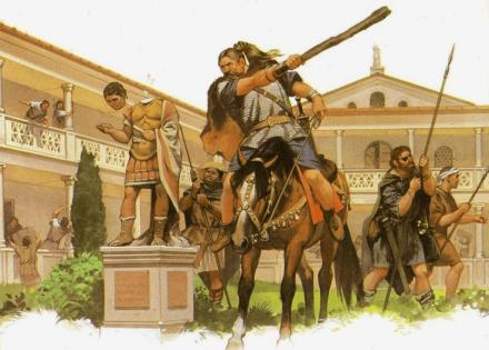 visigodos-destrozando-una-villa-romana