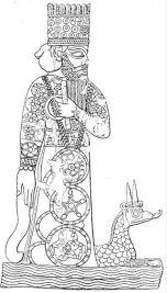 Marduk y su dragón