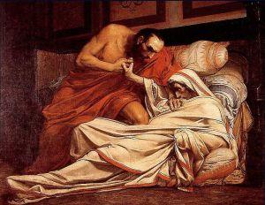 muerte de Tiberio
