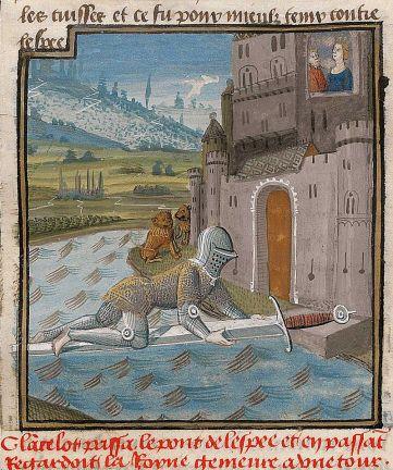 Lancelot_passant_le_pont_de_l'Épée